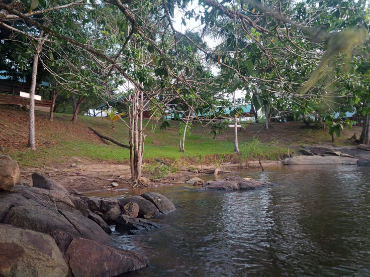 View from the Rapids, Bakaaboto Resort, Boven-Suriname (4)