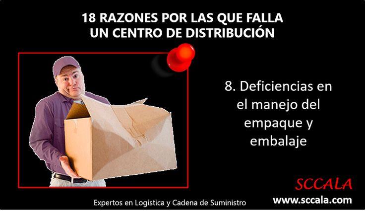 8. Deficiencias en el manejo del empaque y embalaje