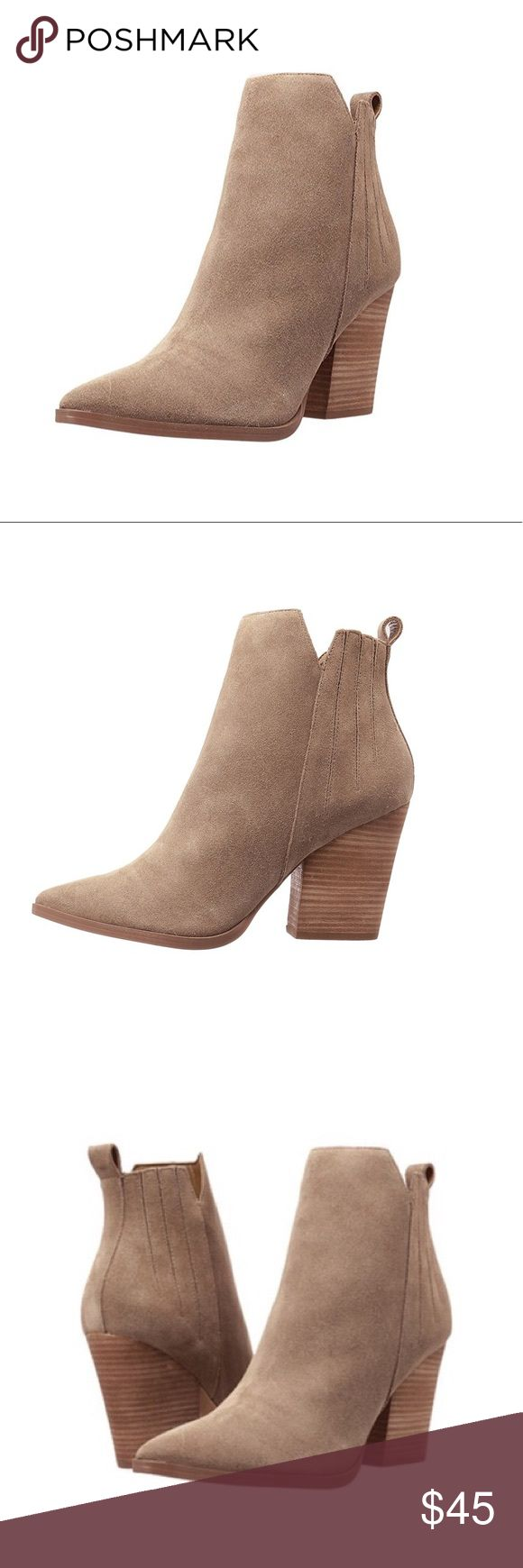 Guess Booties Tan Guess Booties. Used. Good condition Guess Shoes Ankle Boots & Booties