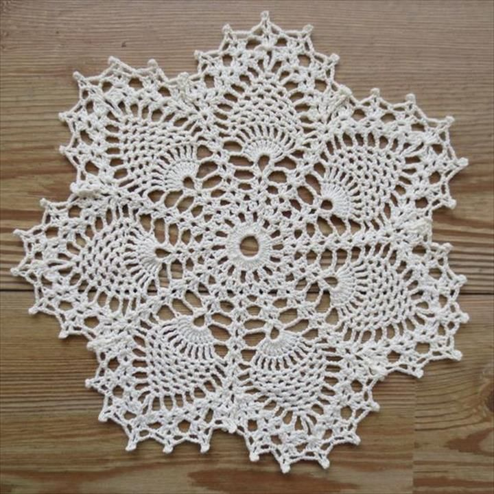 42 Quick & Easy Crochet Doily Pattern | DIY to Make