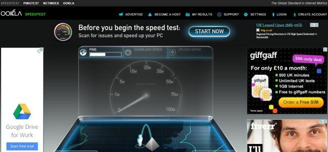 5 Best Online Speed Test Websites