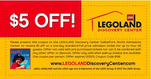 Legoland Coupon Grapevine DFW - Family eGuide | Legoland ...