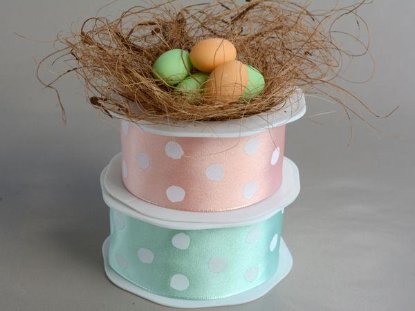 Spring is in the air..fun ribbon with spots