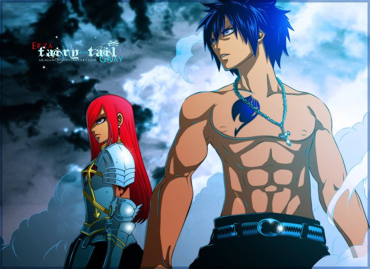 Sexy Fairy Tail Erza and Gray MangaGrounds - Read Fairy Tail Manga Online   Fairy Tail Forums
