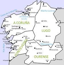 Best 25 Mapa de galicia ideas on Pinterest  El camino de
