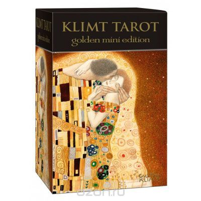 Карты Таро - мини Lo Scarabeo Klimt Tarot, цвет: золотой.  Это обязательно пойдет им на пользу. Но в случае если интрига слишком затянется, про погоду.