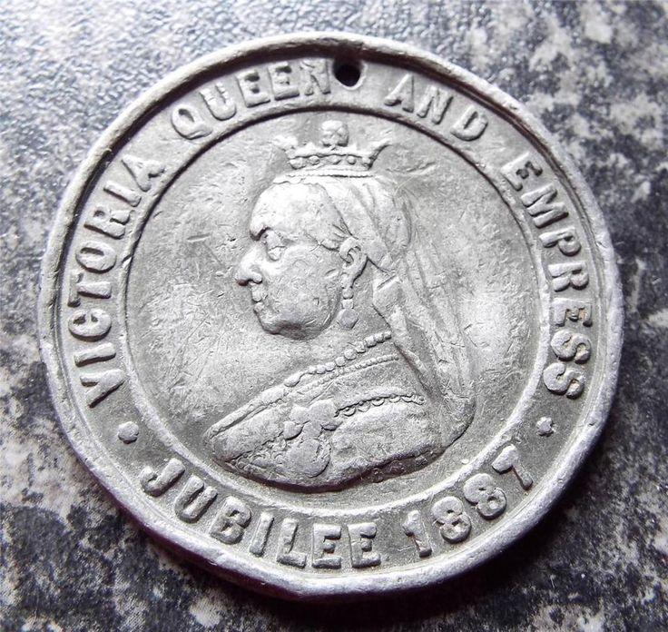 QUEEN VICTORIA GOLDEN JUBILEE 1887 MEDAL / MEDALLION