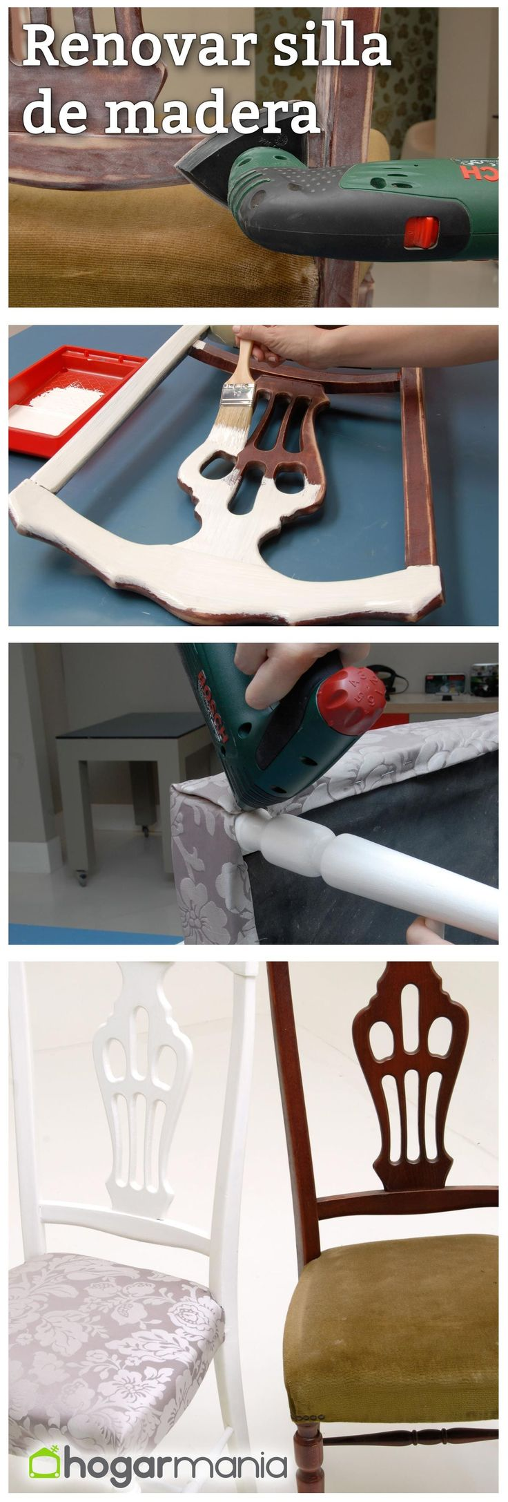 Renovar una silla de madera #decoracion #decoration #silla #diy