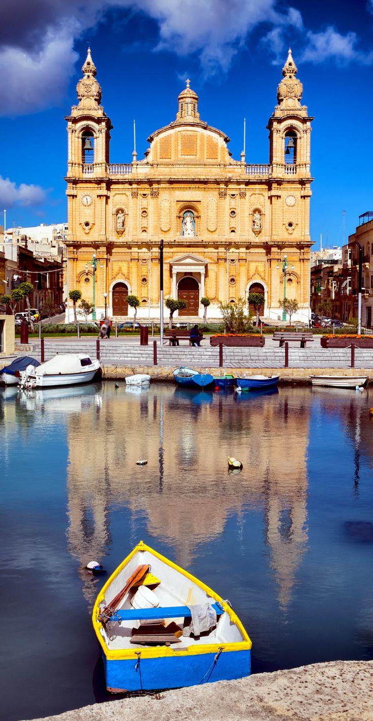 Msida Parish Church - Valletta, Malta