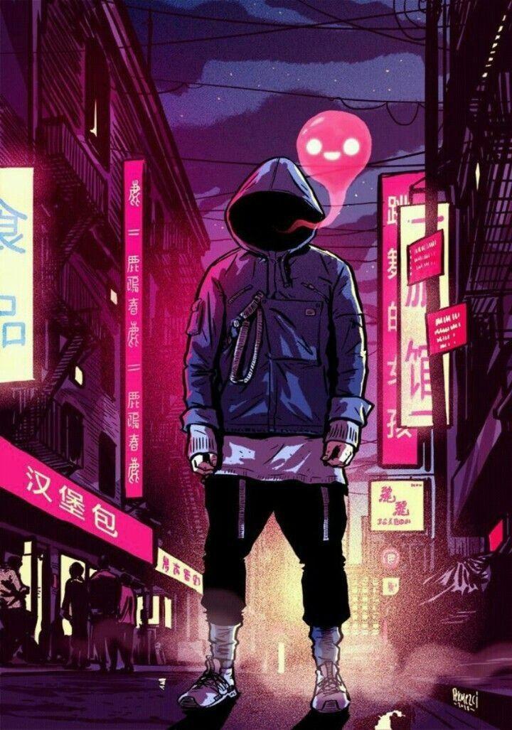 Sad Girl Wallpaper Cartoon Pin By Aj Info On Art In 2019 Cyberpunk Art Character