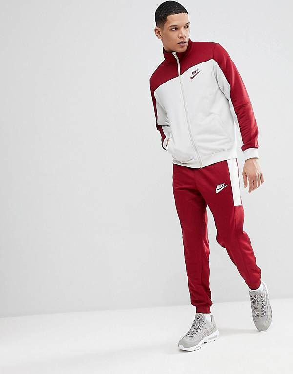60c5c0b163 Nike Poly Tracksuit Set In Red 861774-677 | refs in 2019 | Leggings ...
