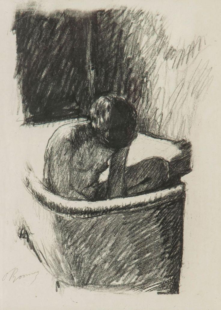 Pierre Bonnard (1862-1947), Le Bain, lithograph printed in black, ca.1925