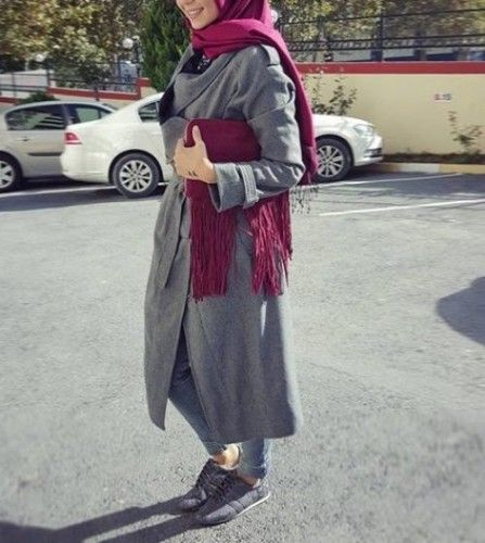 Neutral Sporty Hijab My Style Pinterest Modisch
