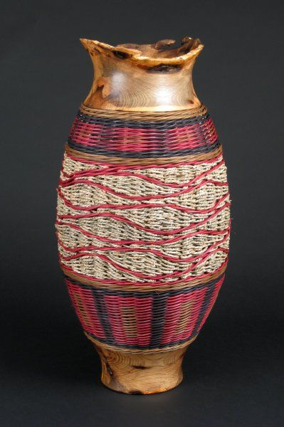 """Field of Seagrass: 26"""" tall by 10"""" diameter, $800.00 #handwoven #wovenbasket"""