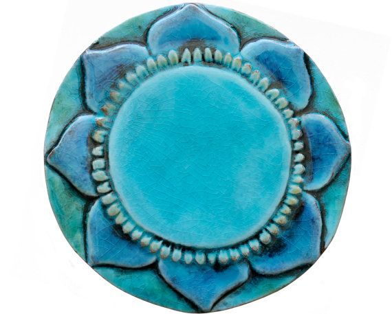 Mantra wall hanging made from ceramic exterior wall art by GVEGA, €19.75