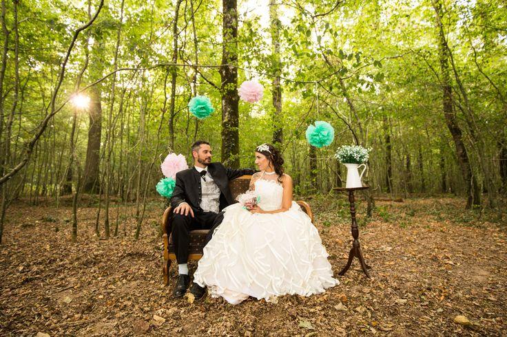 mariage shabby chic cholet - photographe mariage cholet - maine et loire - Emilie.B  #déco #shabbychic #mariage