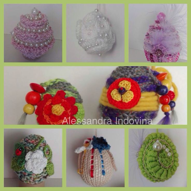 Easter eggs crochet