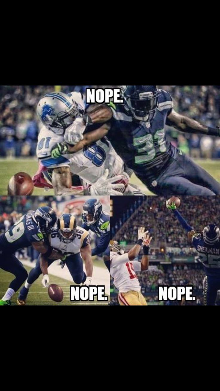 Nope. Seattle Seahawks