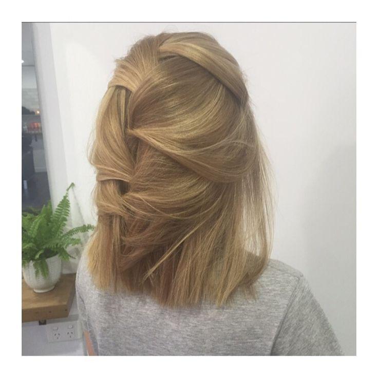 Blonde highlights by Mia Doak