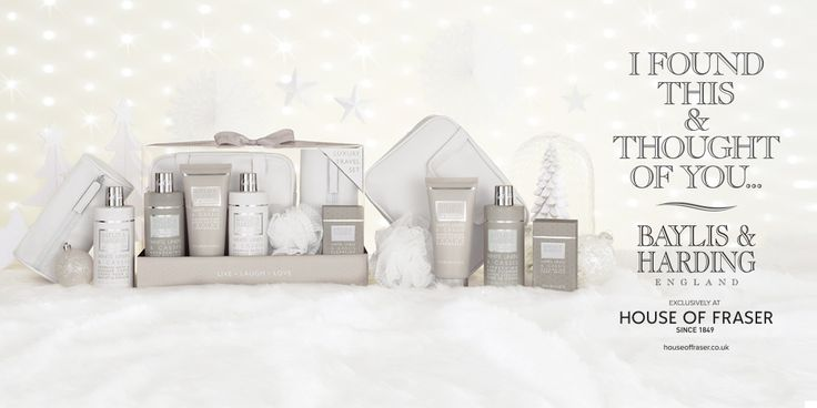 If you enjoy making your home loving and inviting, you'll love our La Maison range featuring an elegant and delicate White Linen & Cassis fragrance. Find this luxurious range at House of Fraser: www.baylisandharding.com/houseoffraser