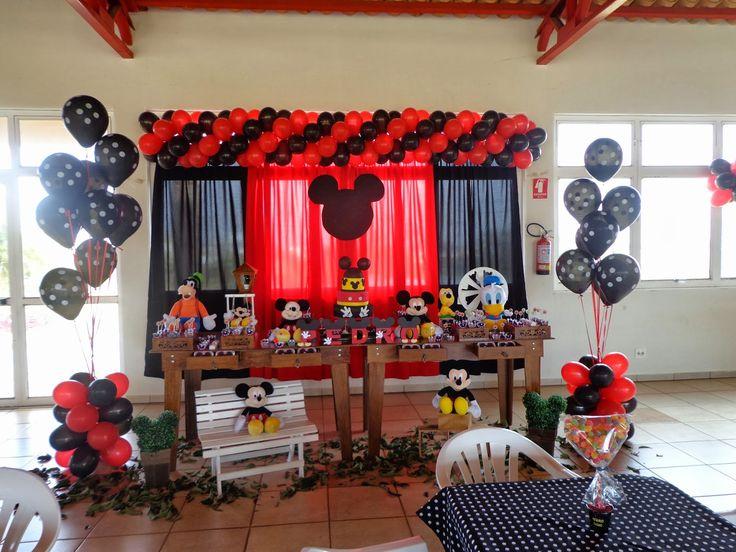 Momento Mágico Decorações : Mickey