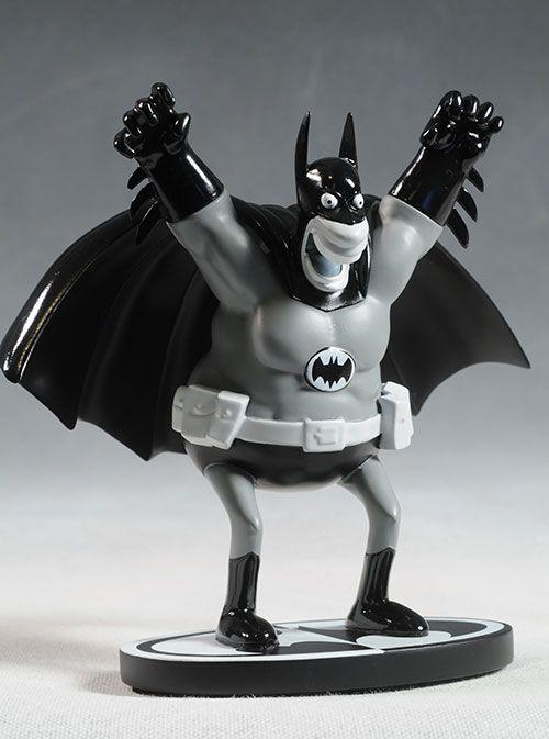 Batman Black & White Sergio Aragones statue by DC Direct