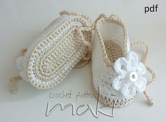 Crochet pattern for the Mia baby booties - Perfect for special occasion. Permission to sell finished items. Pattern No. 115  PLUS FREE TUTORIAL HOW TO MAKE YOUR OWN GIFT BOX! This tutorial will show you how to make your own gift box with lid. Perfect for baby shower because it get more personal. You can decorate it with same flower like on the booties. Finished box size is 12 x 12 x 6 cm and it is perfect fit for booties from my patterns.  This instant download crochet pattern is my original…