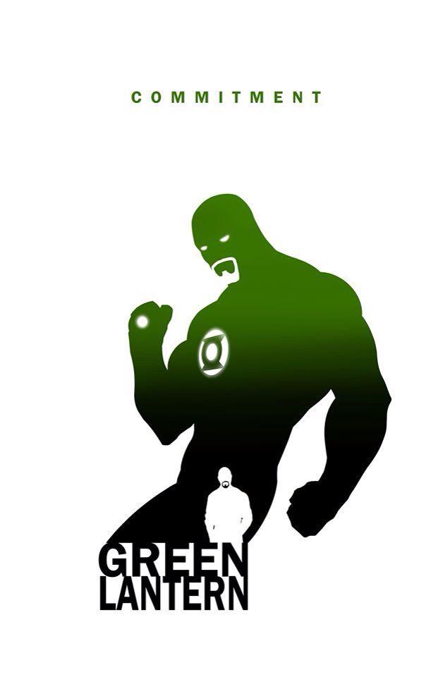 Green Lantern - Commitment by Steve Garcia