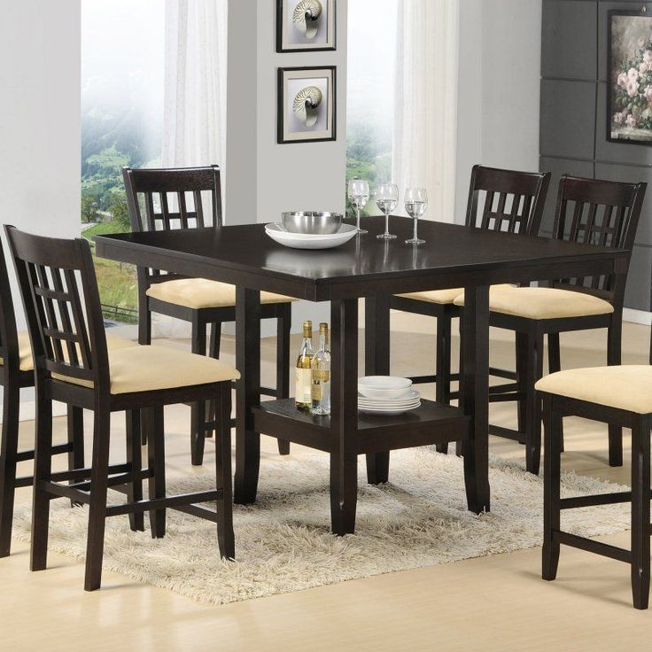 25 best ideas about counter height dining sets on for 7 piece dining room set counter height