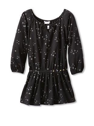 62% OFF Moon Et Miel Girl's Merveilla Dress (Black With Stars)