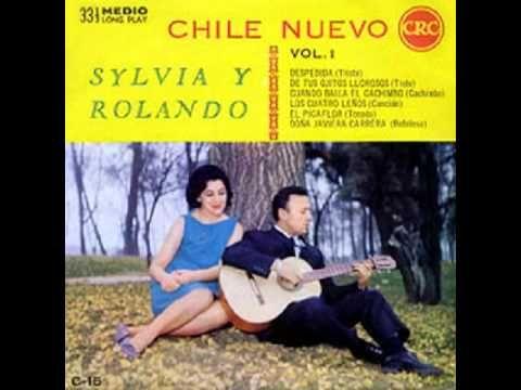 """Rolando Alarcón y Silvia Urbina, """"Chile nuevo"""", medio LP de 1964"""