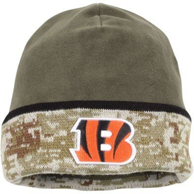 Youth Cincinnati Bengals New Era Camo Salute To Service On Field 59FIFTY Fitted Hat
