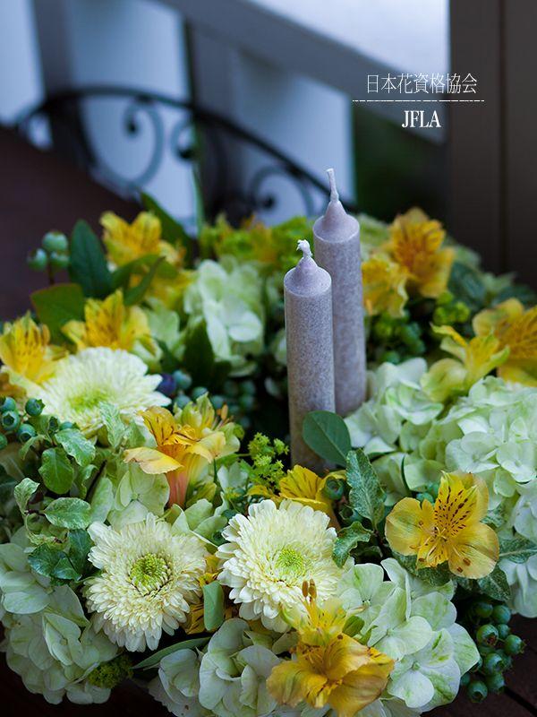#一般社団法人日本花資格協会 #日本花資格協会 #フラワーアレンジメント #フレッシュフラワー #JFLA #flower #design #ディアレイヌ #パリスタイル #flower arrangement #flowers #flower