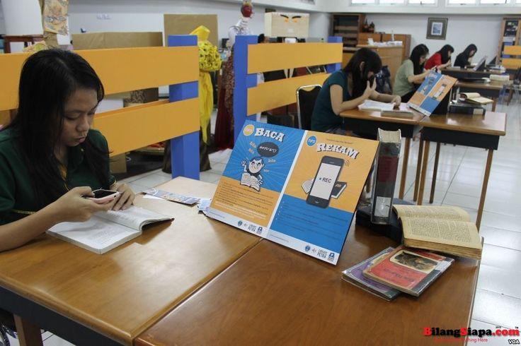 Mahasiswa Surabaya Galakkan Buku Audio untuk Tunanetra