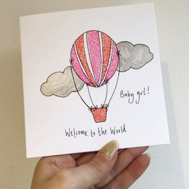 Today is a dull and rainy day in Canterbury - not ideal for photos but I couldn't help but take a little Boomerang of the shiny silver clouds on my latest order that I'm packaging up. 🌦☁️🌫 This is one of my latest cards and there is a baby boy version in my Etsy shop too. I'm also working on some Twinny ones 👯 #newbaby #baby #babygirl #babyshower #etsy #etsyseller #etsyshop #etsyuk #etsyfinds #etsyhunter #smallshop #shopsmall #smallbusiness #handmade #craft #catchlovecreate #card #cards…