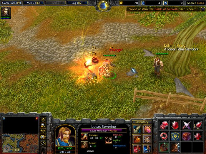 World of Warcraft: Battle of Azeroth - Alliance First Impression In-Game - World of Wacraft Total Conversion Projects for Warcraft III: Frozen Throne