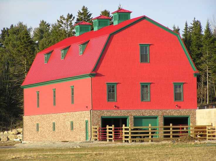 67 best images about big red barn on pinterest barn for Country barn builders