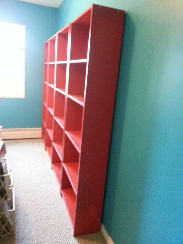 In process. Shelves in 1