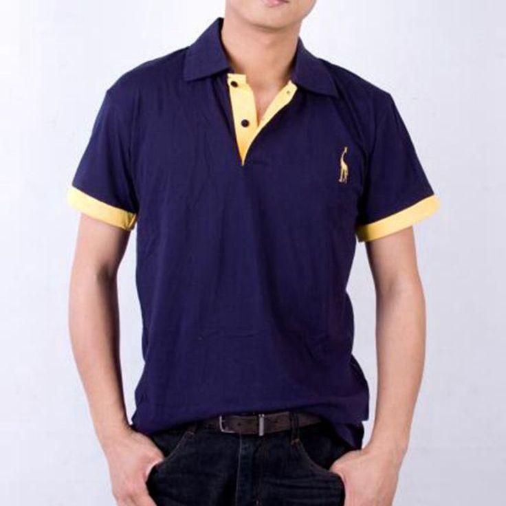 Europe size 2017 Mens Polo Shirt Brands Male Short Sleeve Fashion Casual Slim False Pocket Embroidery Polos Men Jerseys