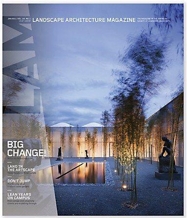 Landscape Architecture Magazine redesign