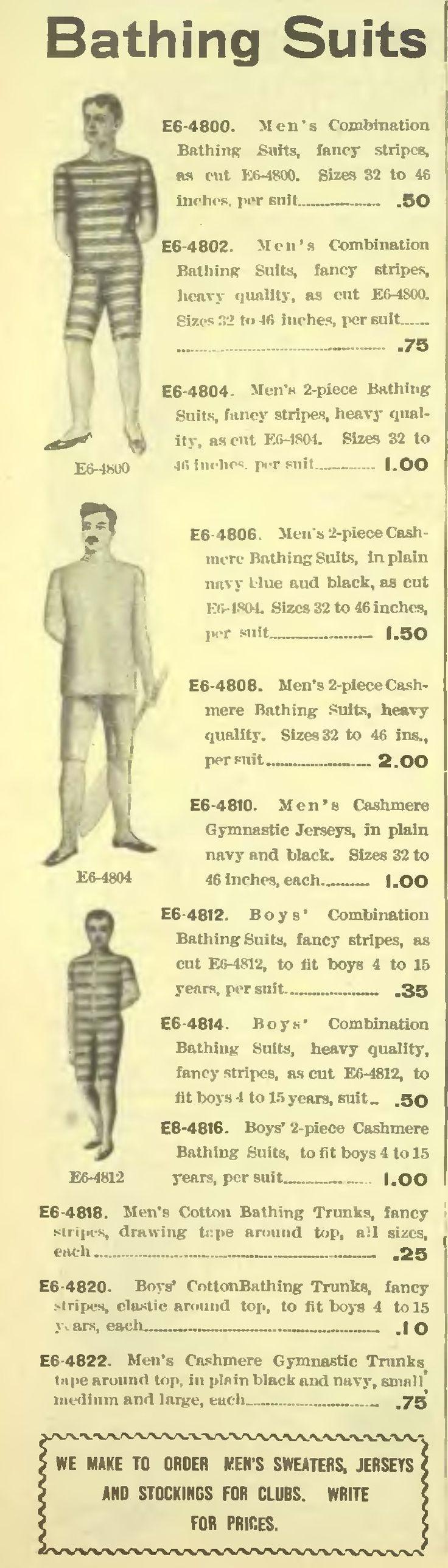 мужские купальные костюмы