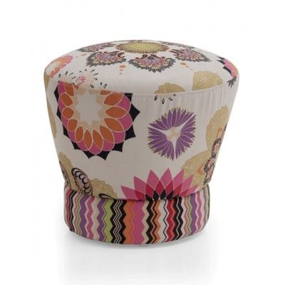 Unique, Bright and Bold!  The Lively Ottoman Ships free!  $239.00 www.selecthomeaccents.com