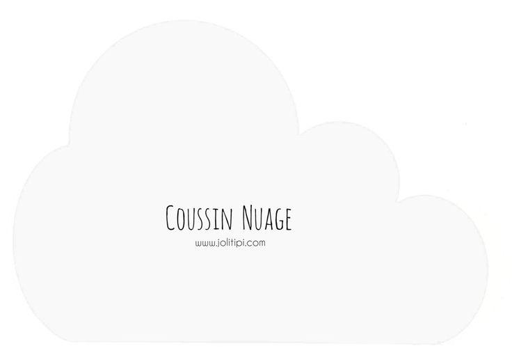 fan des coussins Zü, mais vous aimez bien faire les choses vous-même : voici un petit tuto ultra facile et un patron pour fabriquer un coussin nuage
