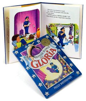 a review of officer buckle and gloria a picture book by peggy rathmann Caldecott-medalist peggy rathmann was born in st  and sometimes we just stood staring into other people's picture windows,  officer buckle and gloria,.