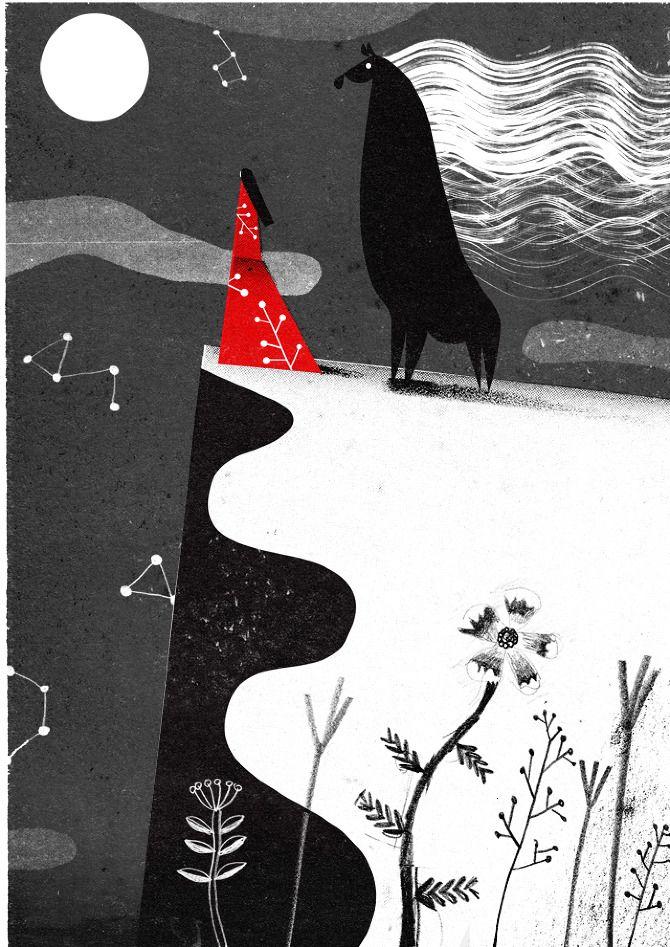 Philip Giordano, illustration to Oshirasama, Bronze Publishing, Tokyo.