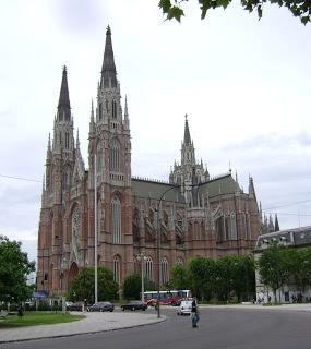 catedral de la ciudad de la plata, provincia de buenos aires, argentina