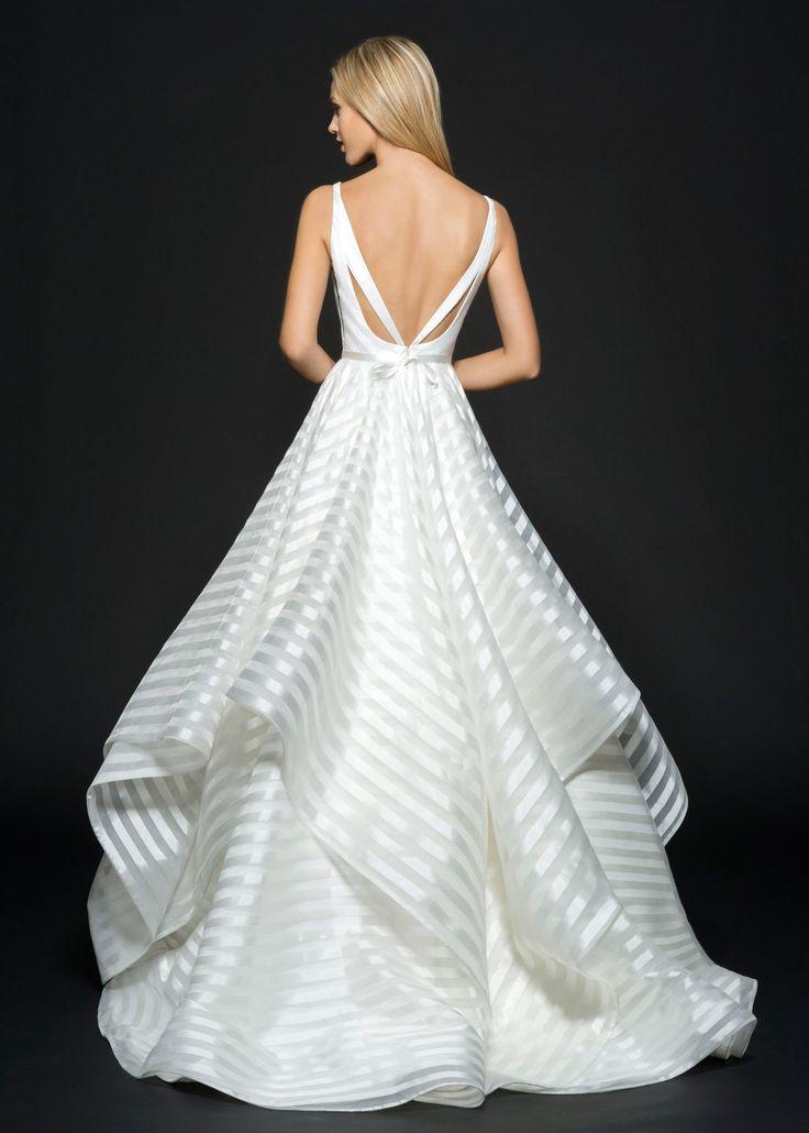 Striped Wedding Dresses 009 - Striped Wedding Dresses