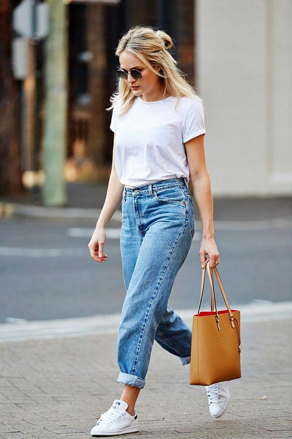 6ae7b02ee 7 Maneiras de usar calça jeans BOYFRIEND - QUE LOOK USAR | Maneiras ...