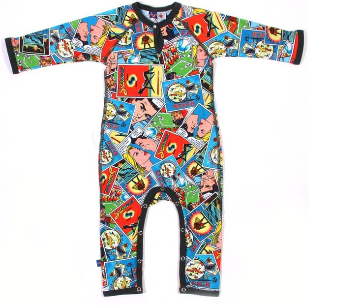 Molo Fleming Cartoon Baby Suit