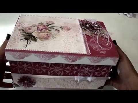 Video-Aula: Livia Fiorelli-Caixa com papel Textura - YouTube